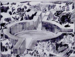 The Roundel from the Prospect Tower Sissinghurst